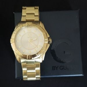 Gold G by Guess watch